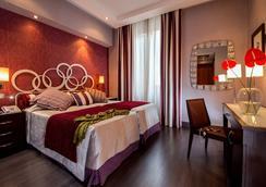 摩甘纳酒店 - 罗马 - 睡房