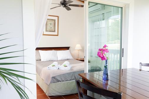 一双凉鞋海滨旅馆 - 家庭旅馆 - 圣托马斯岛 - 睡房