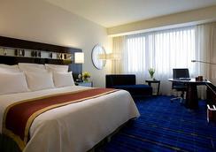 香港天际万豪酒店 - 香港 - 睡房