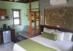 可可斯小屋酒店 - 卡曼海灘 - 睡房