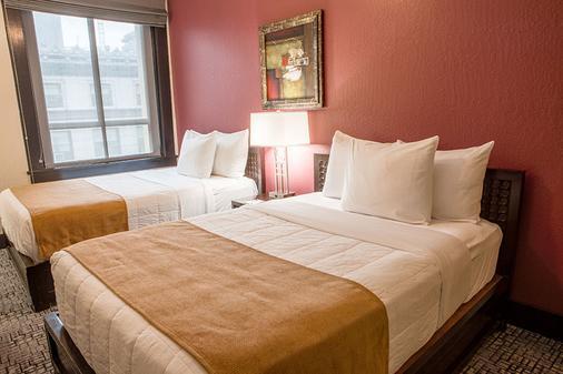 C二融合酒店 - 旧金山 - 睡房