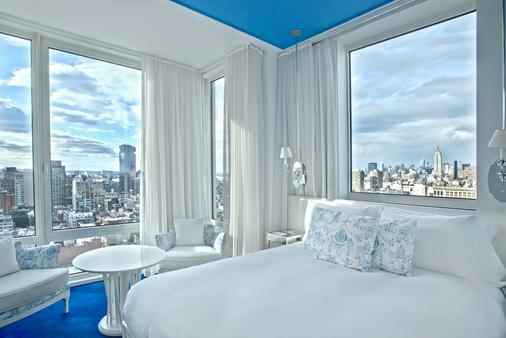 蒙德里安休南酒店 - 纽约 - 睡房