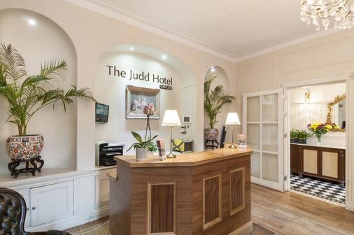 伦敦贾德酒店 - 伦敦 - 柜台