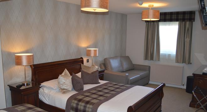博福特酒店 - 因弗内斯 - 睡房