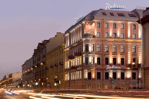 雷迪森布鲁酒店 - 圣彼德堡 - 建筑