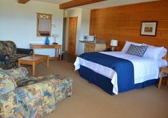 露台套房酒店 - 诺斯贝 - 睡房