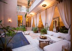 里亚德欧里马义特水疗旅馆 - 马拉喀什 - 游泳池