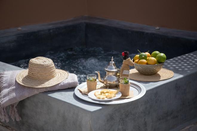 里亚德欧里马义特水疗旅馆 - 马拉喀什 - 食物