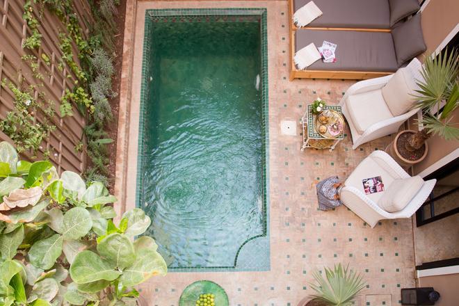 里亚德欧里马义特水疗旅馆 - 马拉喀什 - 阳台