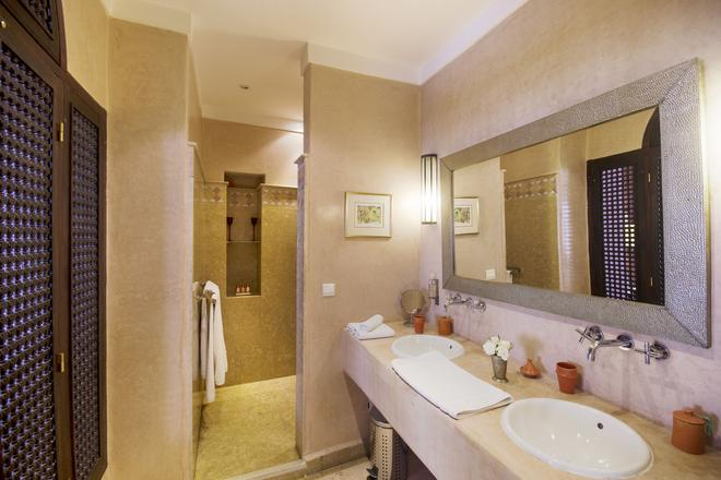 里亚德欧里马义特水疗旅馆 - 马拉喀什 - 浴室
