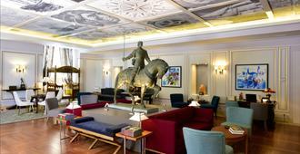 里斯本酒店 - 世界小型奢华酒店 - 里斯本 - 休息厅