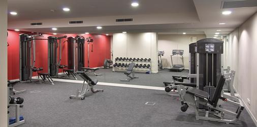 最佳西方亚特兰蒂斯酒店 - 墨尔本 - 健身房
