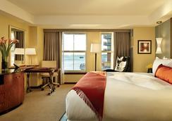 波士顿海滨炮台码头水疗酒店 - 波士顿 - 睡房