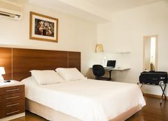 市政厅公寓酒店 - 圣若泽多斯坎波斯 - 睡房
