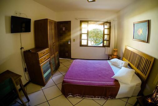 Hotel Pousada Machê - Arraial d'Ajuda - 睡房