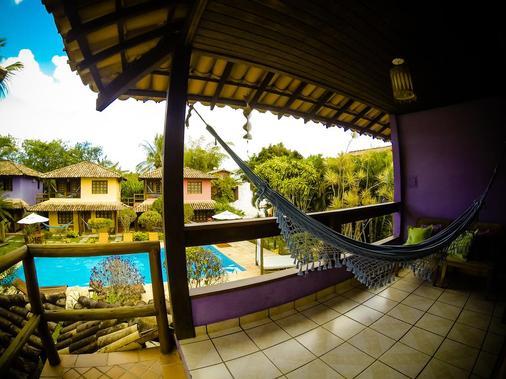 Hotel Pousada Machê - Arraial d'Ajuda - 阳台