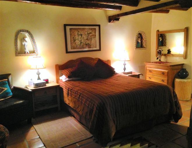 普韦布洛博尼住宿加早餐旅馆 - 圣达菲 - 睡房