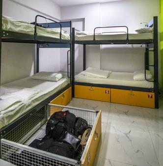 熊猫孟买趣味背包客饭店 - 孟买 - 睡房