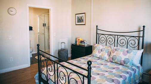 Hi圣地亚哥市中心旅馆 - 圣地亚哥 - 睡房