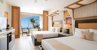 科雷图伦 Spa 度假酒店 - 限成人 - 式 - 图卢姆 - 睡房