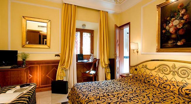 康福特茵玻利瓦尔酒店 - 罗马 - 睡房