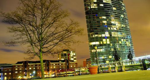 伦敦西印度码头万豪行政公寓 - 伦敦 - 建筑