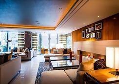 伦敦西印度码头万豪行政公寓 - 伦敦 - 休息厅