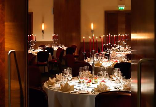 伦敦西印度码头万豪行政公寓 - 伦敦 - 宴会厅