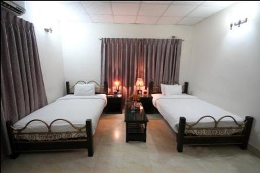 玫瑰园酒店 - 达卡 - 睡房