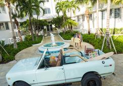 霍尔南海滩酒店 - 迈阿密海滩 - 户外景观