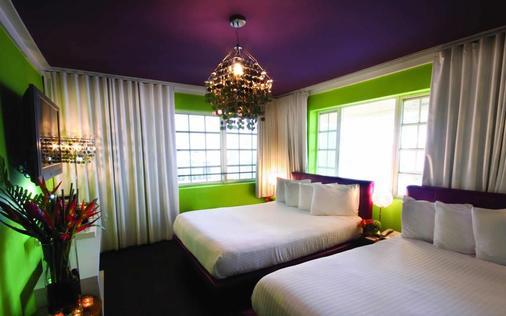 切斯特菲尔德酒店&套房 - 迈阿密海滩 - 睡房