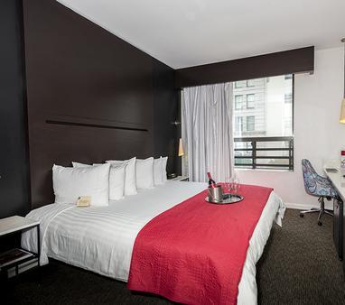 O酒店 - 洛杉矶 - 睡房