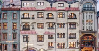 12 号阶梯潘姿酒店 - 因斯布鲁克 - 建筑