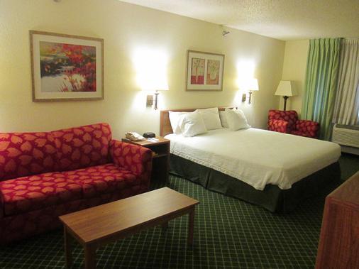 萨利纳贝蒙特套房酒店 - 萨里纳 - 睡房