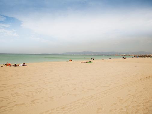 帕尔马海滩-洛杉矶仙人掌酒店 - 马略卡岛帕尔马 - 海滩