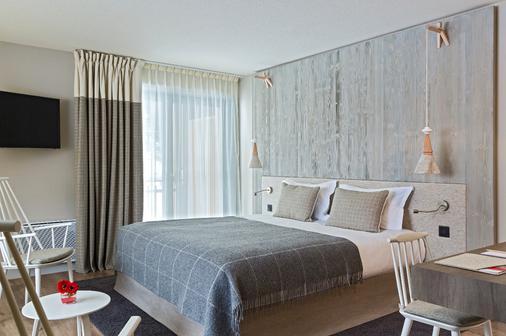 赫里欧皮克 SPA 酒店 - 夏蒙尼-勃朗峰 - 睡房
