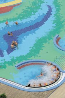 约翰逊贝德凤凰酒店 - Bad Fuessing - 游泳池