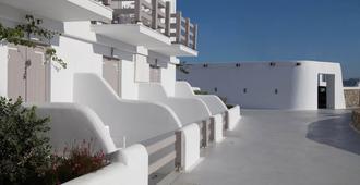 米克诺斯岛三原色酒店 - 米科諾斯岛 - 阳台