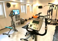 拉玛尔蒂娜酒店 - 尼斯 - 健身房