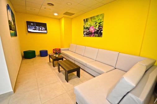 波多黎各特拉斯酒店 - 大加那利岛拉斯帕尔马斯 - 客厅