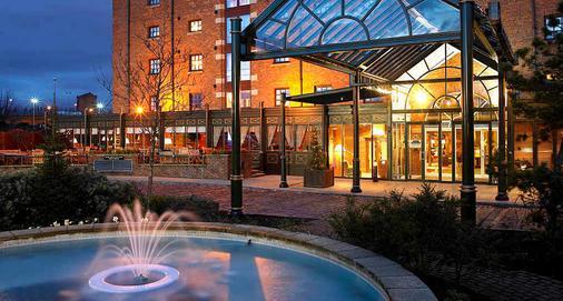 曼彻斯特维多利亚和艾尔伯特万豪酒店 - 曼彻斯特 - 建筑