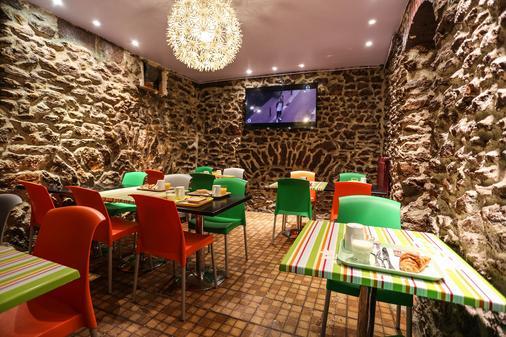 蒙特克莱尔蒙马特旅舍及经济型酒店 - 巴黎 - 餐厅