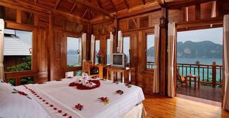 皮皮岛海滩度假酒店 - 皮皮岛 - 睡房