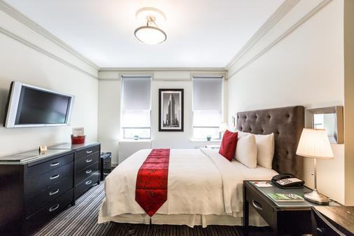 414号酒店 - 纽约 - 睡房