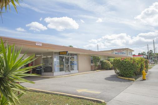 百汇机场汽车旅馆 - 迈阿密泉 - 建筑
