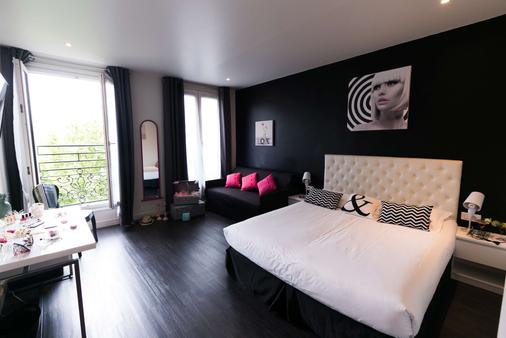 理想设计酒店 - 巴黎 - 睡房