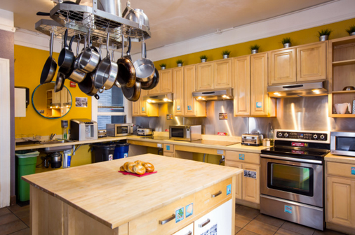 旧金山市区国际青年旅舍 - 旧金山 - 厨房