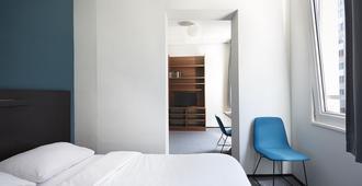 鹿特丹学子酒店 - 鹿特丹 - 睡房