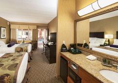 苏必利尔湖酒店 - 德卢斯 - 睡房