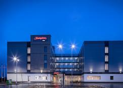 布里斯托尔机场希尔顿欢朋酒店 - 布里斯托 - 建筑